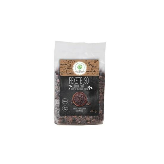 Éden Prémium fekete só durva szemű 250g