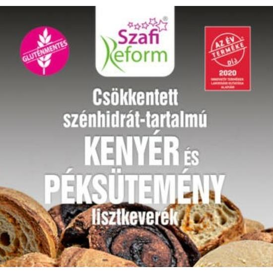 Szafi Reform Csökkentett Szénhidrát-tartalmú paleo kenyér és péksütemény lisztkeverék