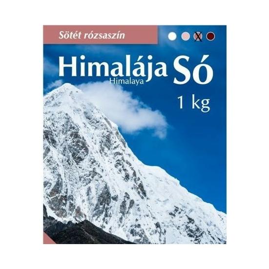 Himalaja só,sötétrózsaszín  - 1000g - Natur Cookta