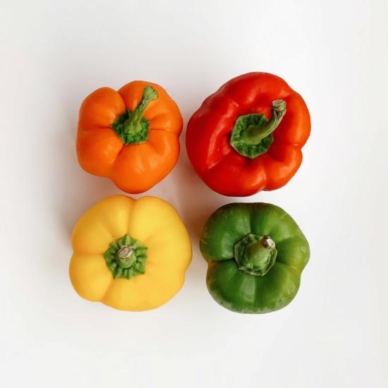 Tricolor Kaliforniai paprika - 0,5 kg