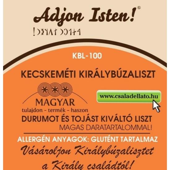 KBL-100 Királybúza liszt, Magyar Családellátó