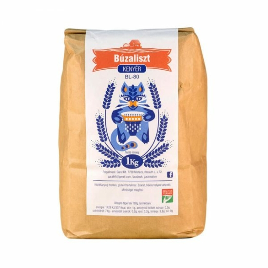 BL80 kenyérliszt  - 5 kg - Garat malom
